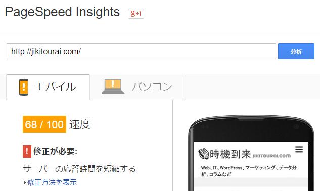Google PageSpeed Insightsキャプチャ9
