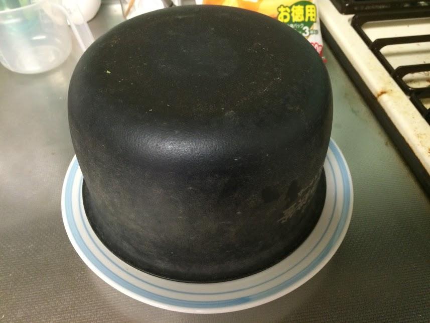 炊飯器ホットケーキひっくり返す