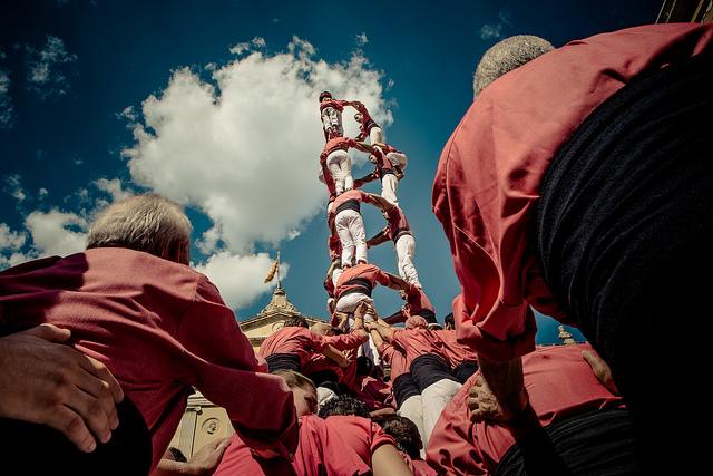 人間の塔(Human Tower)