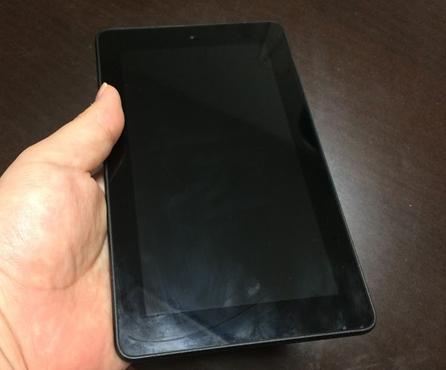 Fireタブレット8GB外観写真