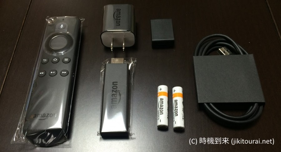 Fire TV Stick同梱物