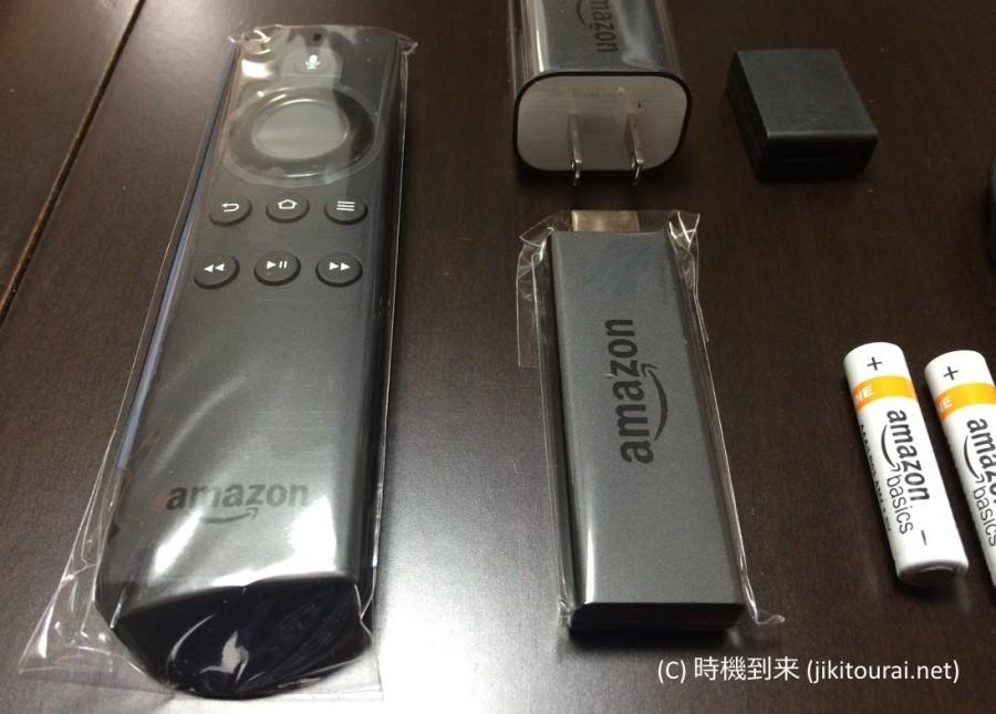 Fire TV Stickリモコンと本体