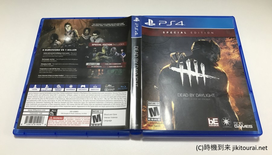 Dead by Daylight PS4パッケージ
