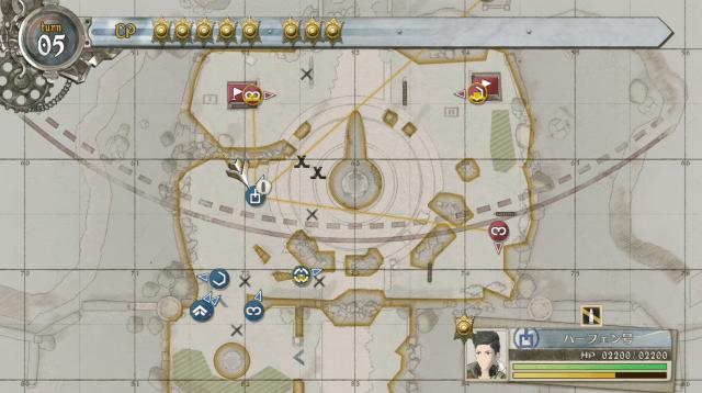 戦場のヴァルキュリア4 プレイ画像
