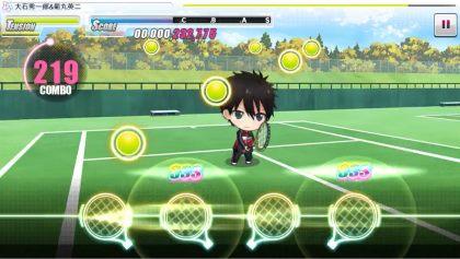 新テニスの王子様 RisingBeat プレイ画像