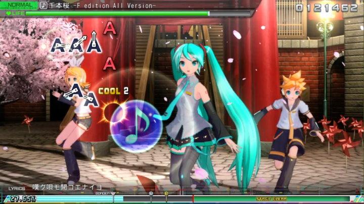 初音ミク Project DIVA MEGA39's アーケードモード